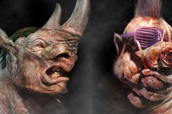 TMNT | Confira os visuais alternativos de Bebop, RockSteady e Krang