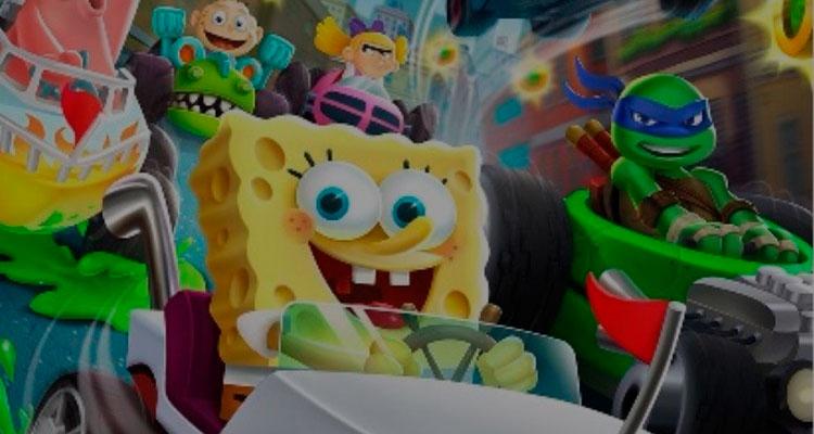 Nickelodeon Kart Racers   Canal anuncia game de corrida de